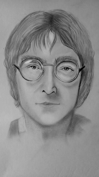 John Lennon by tikaninua